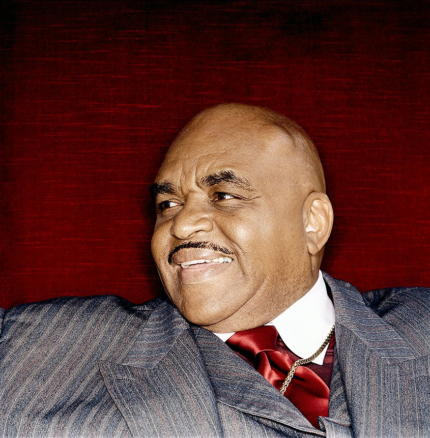 The amazing Solomon Burke