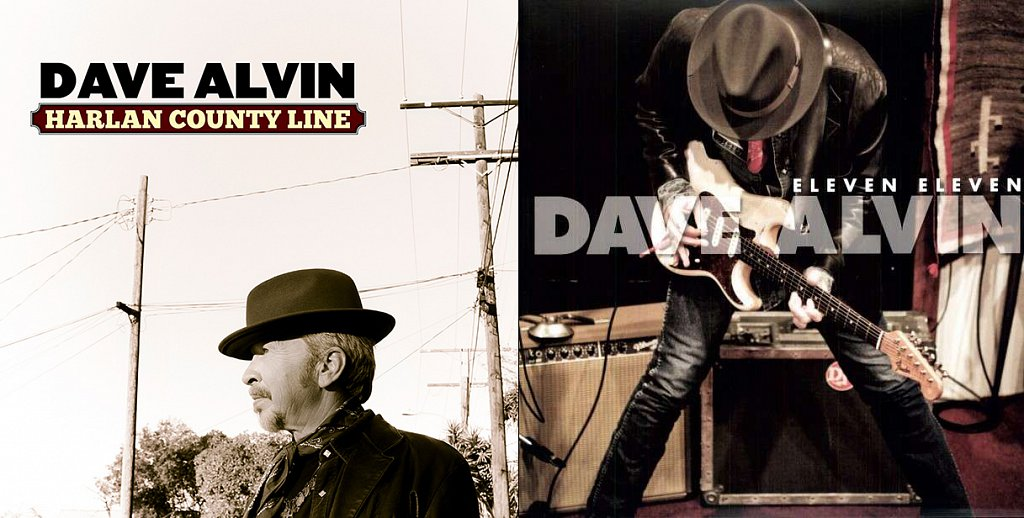 Dave Alvin, single and cover art